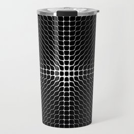 Energy Vibration 2.  Frequency - Chladni - Cymatics Travel Mug