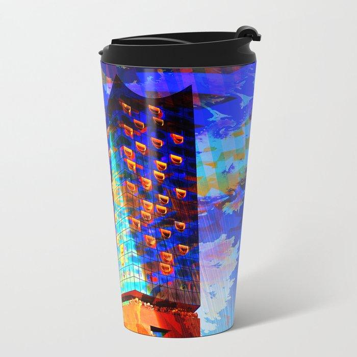 Elbphilharmonie Hamburg IV Metal Travel Mug