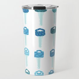 Be a Little Doorkey - Blue Travel Mug