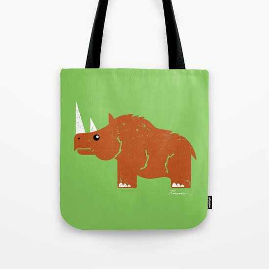 Woolly Rhino Tote Bag