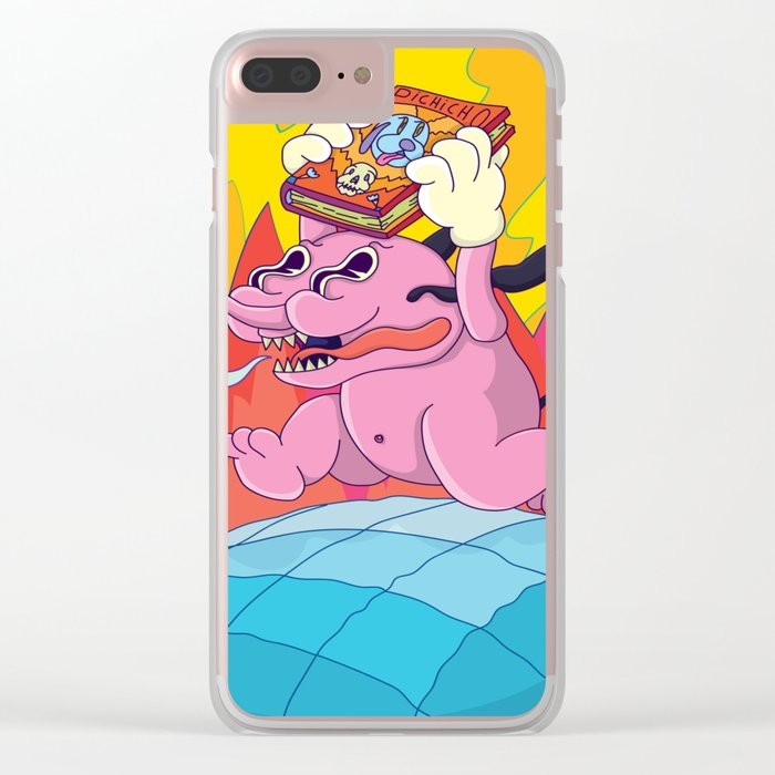 pichicho to the world! Clear iPhone Case