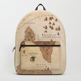 The Antlered Ship_Map Endpapers Backpack