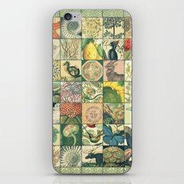 Such a wonderful world - Patchwork iPhone Skin