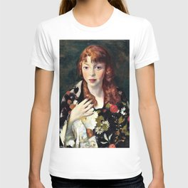 Robert Henri - Edna Smith in a Japanese Wrap - Digital Remastered Edition T-shirt