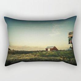 By The Riverside #4 Rectangular Pillow