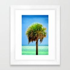 Stately Palm Framed Art Print