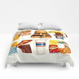 FAT KID Comforters