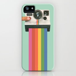 Take a Picture. It Lasts Longer. iPhone Case