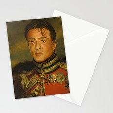 Sylvester Stallone - replaceface Stationery Cards