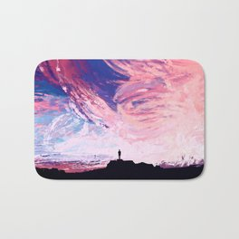 Lily of the Skies Bath Mat