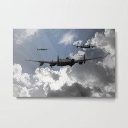 Lancaster Bomber Command Metal Print