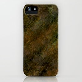 Camouflage natural design by Brian Vegas iPhone Case