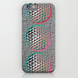 SHADES OF GREY #GOLFBALLS iPhone Case