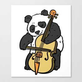 Cello Gift Musical Instrument Song Sound Canvas Print