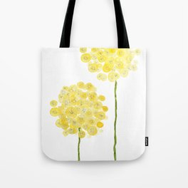 two abstract dandelions watercolor Tote Bag