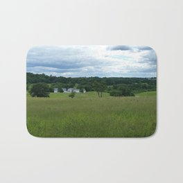 A stormy Afternoon on a Hilltop Bath Mat