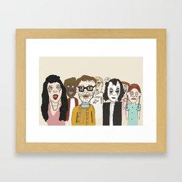 Gellerson Junior High Beliebers Club Framed Art Print