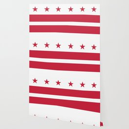 Washington D.C.: Washington D.C. Flag Wallpaper