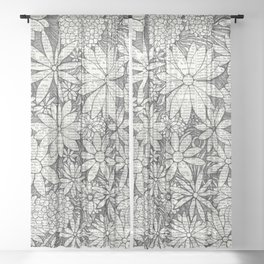 Bloomers Sheer Curtain