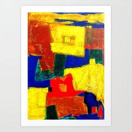 Equilibrium - Balance -Öl auf Leinwand Art Print
