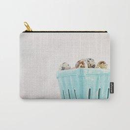 Mi cesta turquesa. Carry-All Pouch