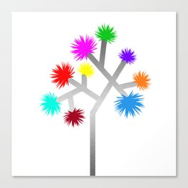 Joshua Tree Pom Poms by CREYES Canvas Print