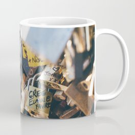 Love Locks in Paris Coffee Mug