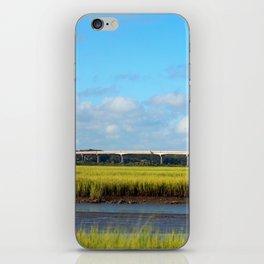Seaside To Mainland Bridge iPhone Skin