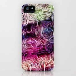 Fusion Of Pastel iPhone Case