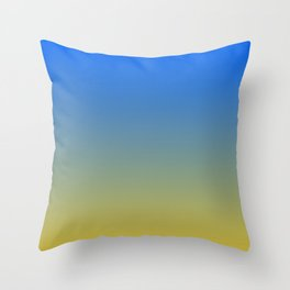 Beach Sky Throw Pillow