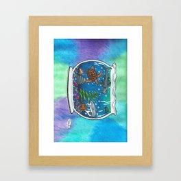 A Bowl Of The Ocean Framed Art Print