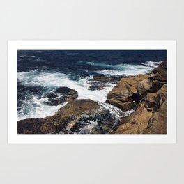 Waves on Clovelly Beach, NSW, Australia Art Print