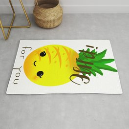 Cute Fruit-Pineapple Rug