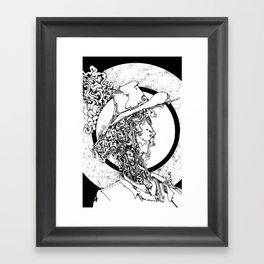 sun of a halo Framed Art Print