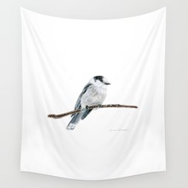 Gray Jay by Teresa Thompson Wall Tapestry