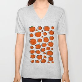 Naranjas de invierno Unisex V-Neck