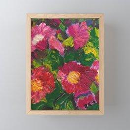 Don't disturb the flowers Framed Mini Art Print