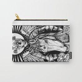 Death Tarot Card Carry-All Pouch