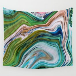Colored Swirls 02 Wall Tapestry