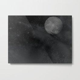 Up The Moon Metal Print