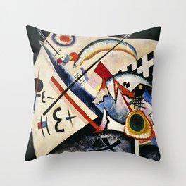Wassily Kandinsky - White Cross Throw Pillow