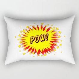 Cartoon Pow Rectangular Pillow