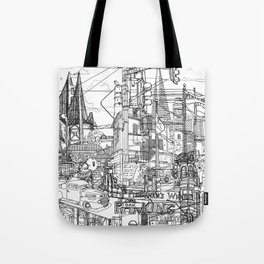 San Francisco! (B&W) Tote Bag