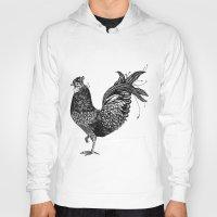 chicken Hoodies featuring Chicken  by Aubree Eisenwinter