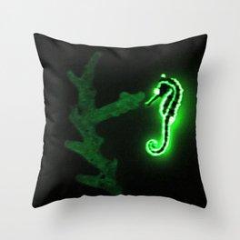 Glow. Throw Pillow