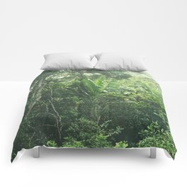 Green Paradise Comforters
