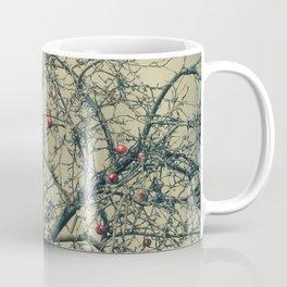 Red Apples in Empty Garden Coffee Mug