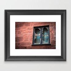 window of solitude  Framed Art Print