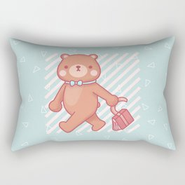 Bongo goes to school Rectangular Pillow