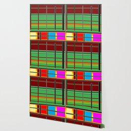 Stripes make a pattern Wallpaper